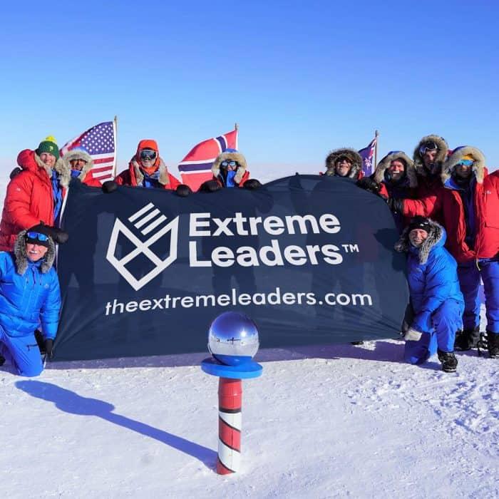 We'll finish what Ernest Shackleton started